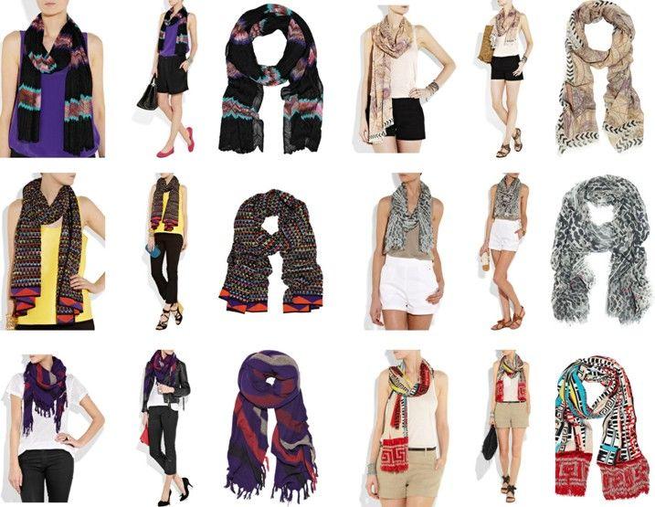 Usar pashminas y bufandas incluso en temporada de verano, es una tendencia de moda que empezó con fuerza hace algunos años y simplemente permaneció en el tiempo. Hoy en día las bufandas, pashminas y pañoletas son prendas básicas imprescindibles tanto para el vestuario femenino como para el masculino. Existen infinidad de formas de usarlas y prendas para combinarlas.