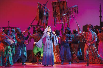 Wish Granted! See Dean John-Wilson, Jade Ewen & Trevor Dion Nicholas in London's Aladdin   Broadway Buzz   Broadway.com