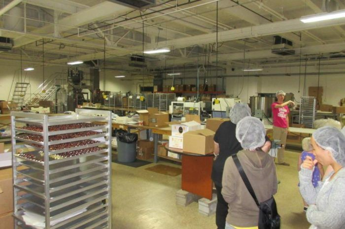 chocolate factory tours south bend