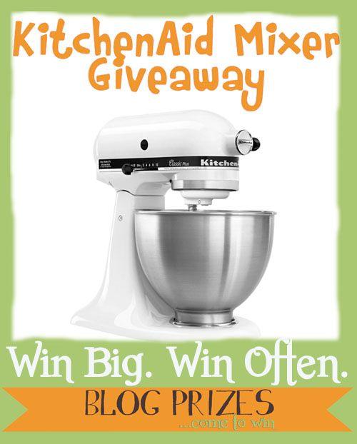 6 Ways to Customize Your KitchenAid Mixer…  WIN One!!