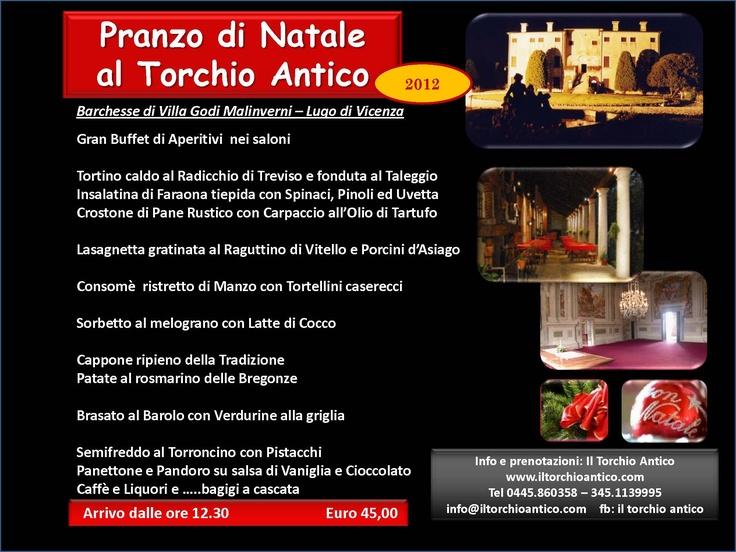 Pranzo di Natale al Torchio Antico #iltorchioantico #restaurant #food and #drink #amazing #atmosphere #best #quality #lunch #dinner #italianfood #veneto #italy