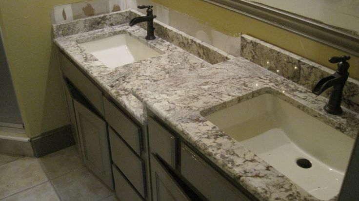 Granite bathroom Countertops | Bathroom Countertop - White Spring Custom Granite -GRANITE COUNTERTOPS ..alphastoneusa.com