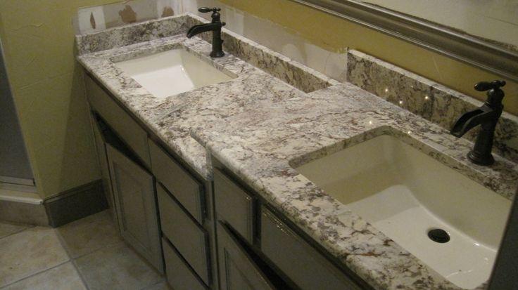 Granite bathroom Countertops | Bathroom Countertop - White Spring Custom Granite -GRANITE COUNTERTOPS ..alphastoneusa.com