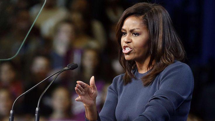 La Première dameest revenue, dans un discours prononcé jeudi, surles propos polémiques deDonald Trump dévoilés dans une vidéo.