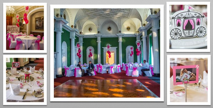 Pink colour schemed venue dressing. You can hire venue dressing like this at Natalija.Co Event Planning, find us on facebook, or visit our website, www.natalija.co.uk