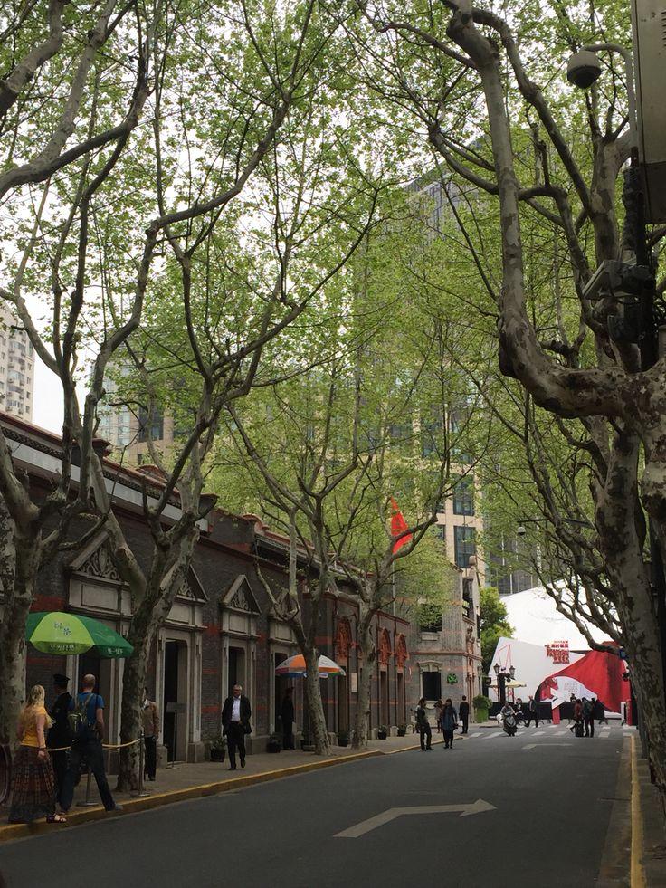 French... In Shangai