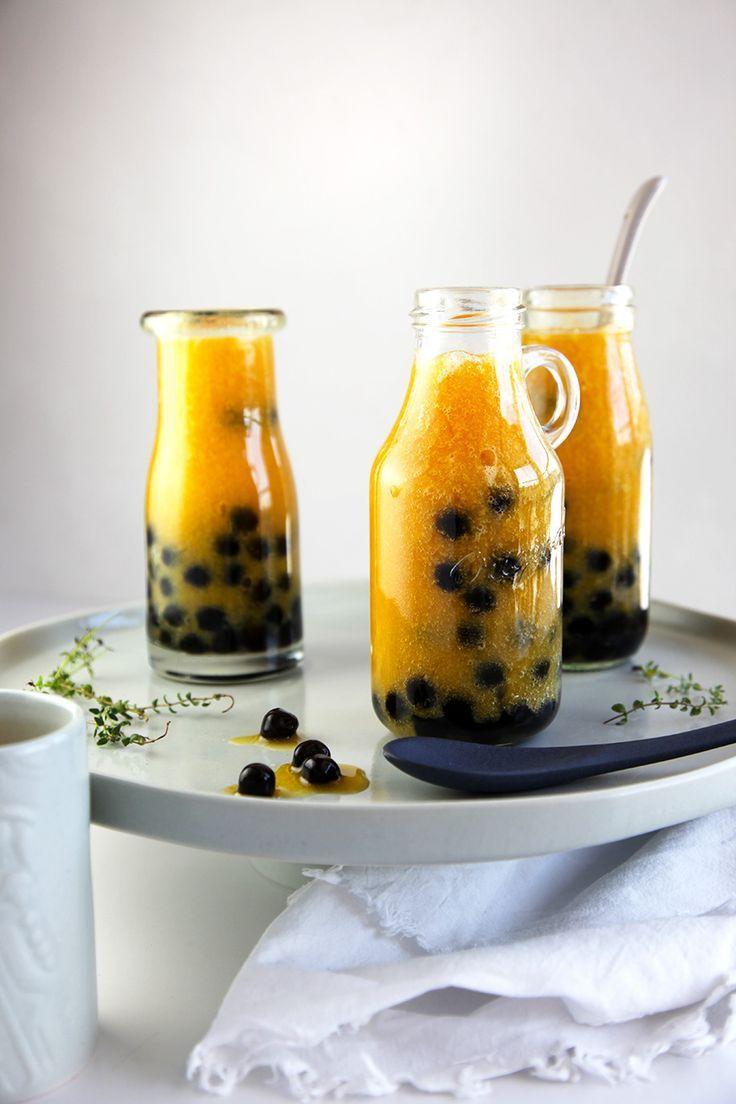 Blend gourmet herbal tea - Mango Rooibos Bubble Tea