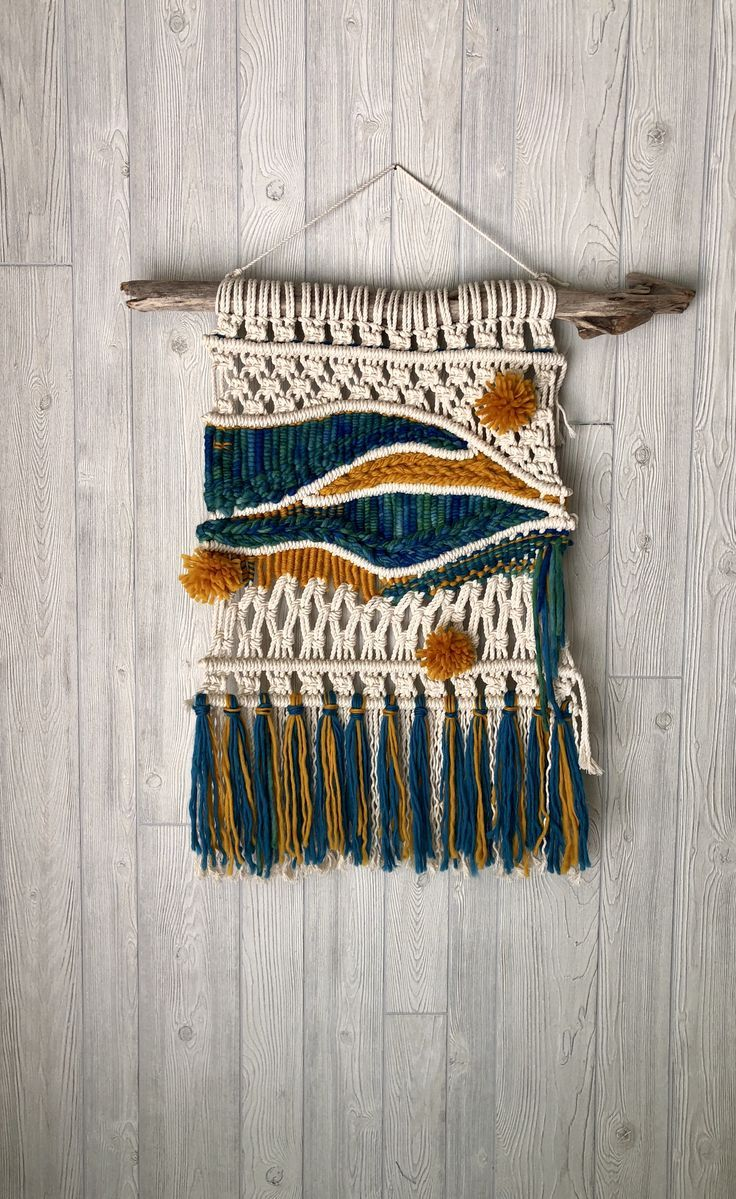 Macrame Loves Weaving Macrame Wall Art Weaving Wall