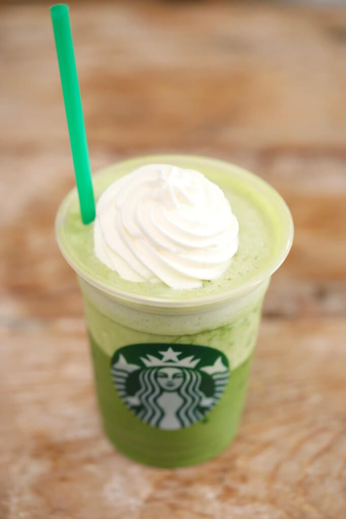 Starbucks Green Tea Frappuccino - Want to save your money and your waistline? make homemade Starbucks Frappucinos!!!