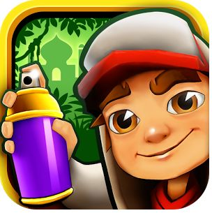 Subway-Surfers. It is a fun game