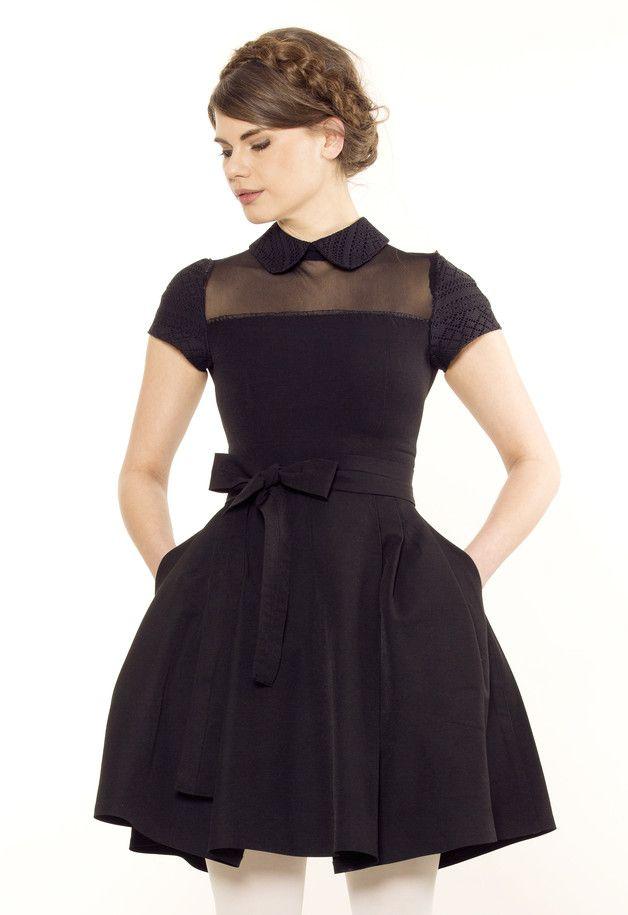 10 best ideen zu schwarzes kleid mit spitze auf pinterest. Black Bedroom Furniture Sets. Home Design Ideas
