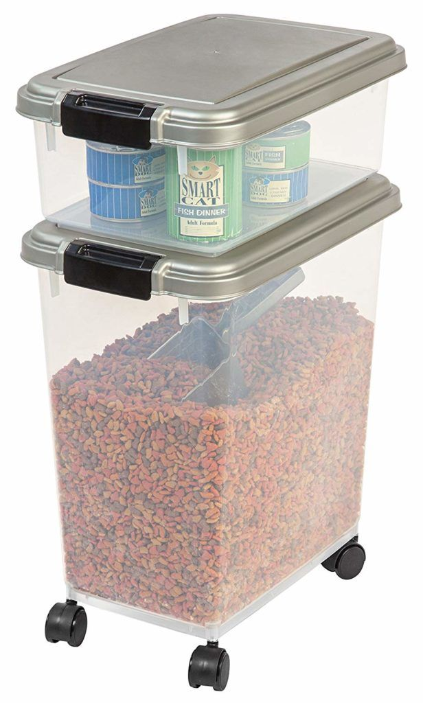 Airtight Pet Food Container To Store Dog And Cat Food Dogfood