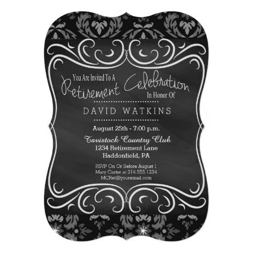 Best Classy Classic Chalkboard Invitations Images On