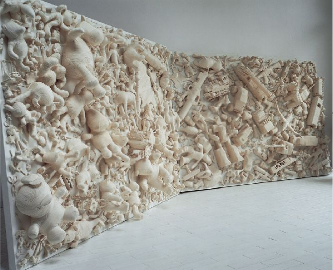 Lin Tianmiao, Artist Extrordinaire on Coolclimates fiber and handspun yarn: string wrapped objects #art #textiles #NYC