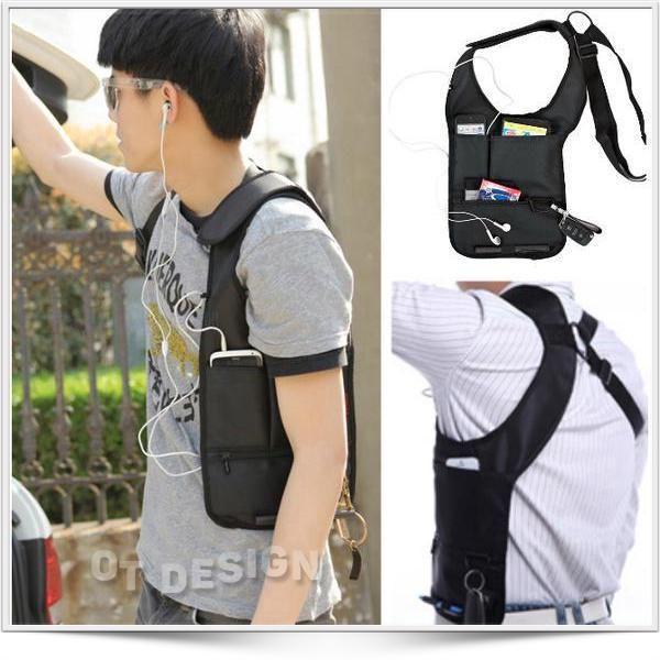 <p>Tas Gadget Pundak Anti Pencuri/ Jamesb ound bag / Souldier Tactical Bag indonesia Warna = HITAM   Merupakan tas dengan desain kompak dengan berbagai fungsi untuk membawa perlengkapan aktifitas anda : Hp Dompet Tab Kunci serta peralatan dan perlengkapan lainnya.  Selain itu Tas ini yang didesain untuk menghindarkan gadget anda dari pencurian. Karena dapat disembunyikan dibalik baju maupun jaket yang anda kenakan. Mohon inbox U/ stock pilihan Warna...  Cocok untuk : - Pria & W...