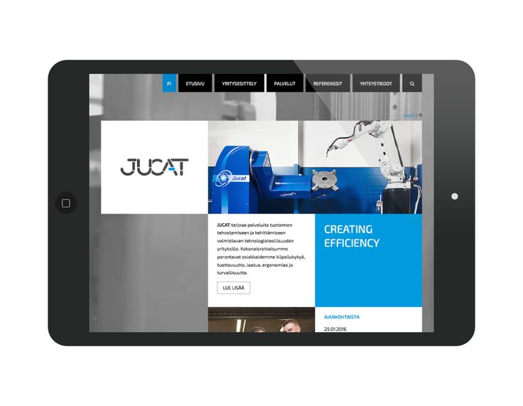 Jucat – Responsiiviset verkkosivut
