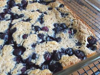 Healthy Blueberry Dump Cake recipe