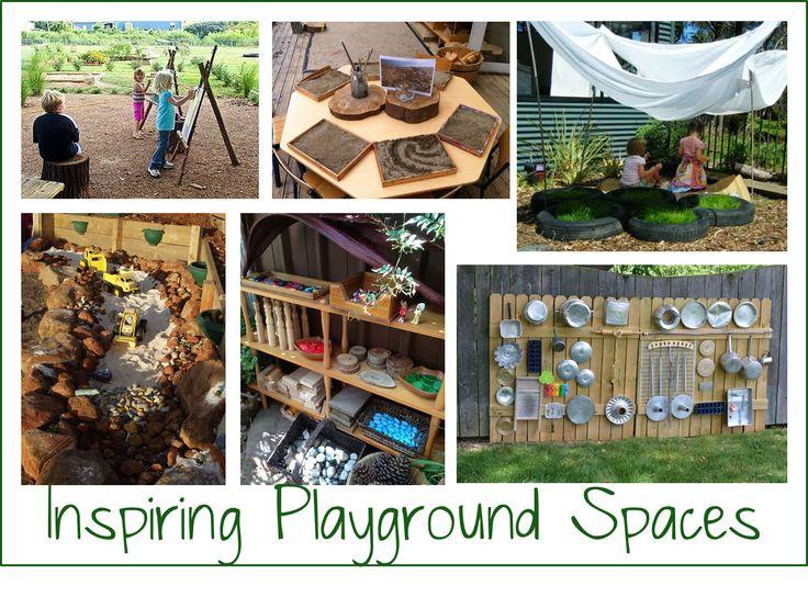 Inspiring Preschool Playgrounds