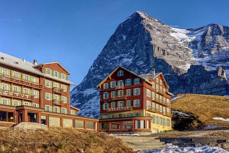 Popular on 500px : The Eiger from the Kleine Scheidegg by xpintado