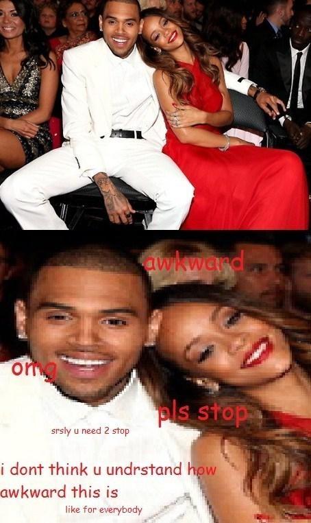 with chris brown. Rihanna ...