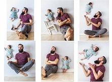 Zobacz zdjęcie Oryginalna sesja zdjęciowa taty i córki :)