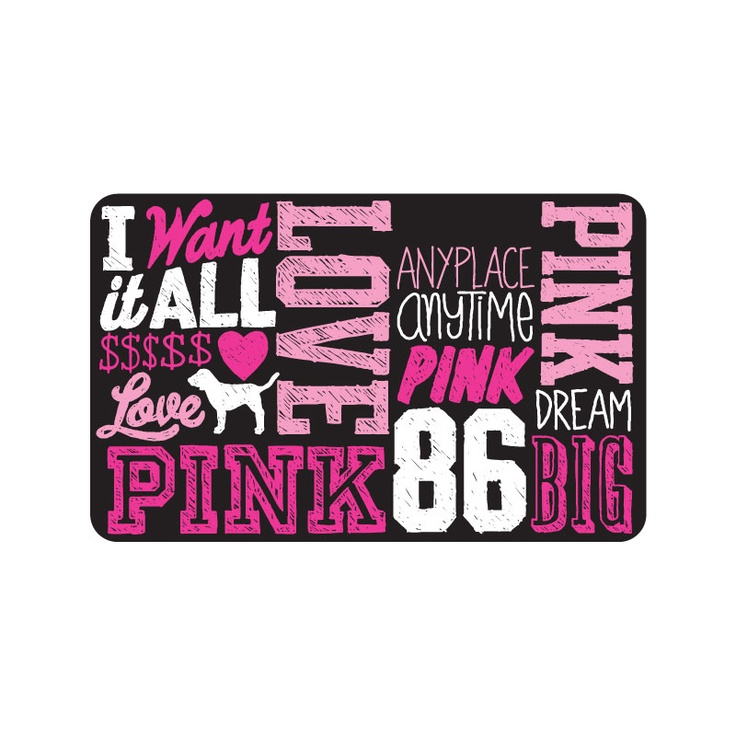 Go to Victoria Secret's Pink & vote for your favorite card!