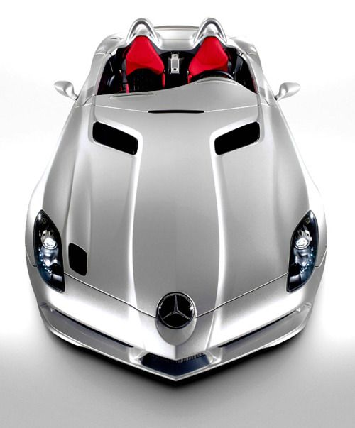 Mercedes SLR Stirling Moss. This beautiful limited edition SLR is a fantastic homage to the glorious racing legend that is Stirling Moss.
