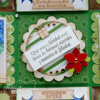Hilda Designs: Blog Hop Latina Crafter: Christmas in July // Navidad en Julio