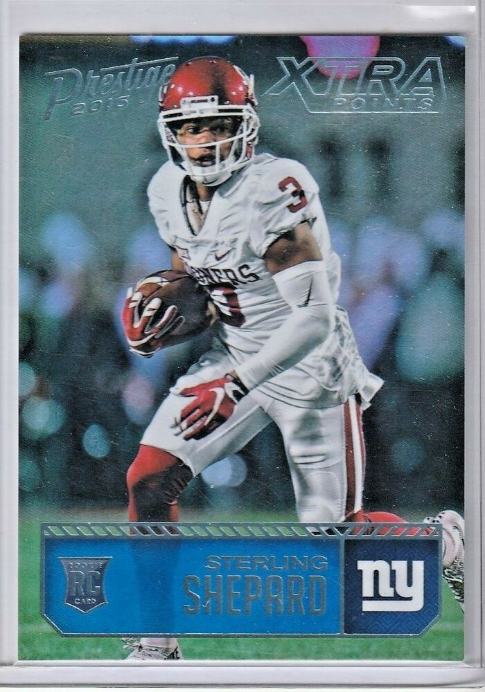 Rare 0525 2016 Sterling Shepard Panini Rookie Card Rc New