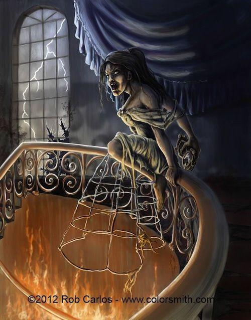 Scary Zombie Princess Art - Inked Magazine