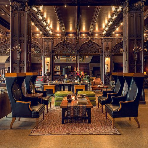 Chicago Athletic Association (Hotel) in Chicago, Illinois   Designed by Robin and William #Chicago #NeoCon2016