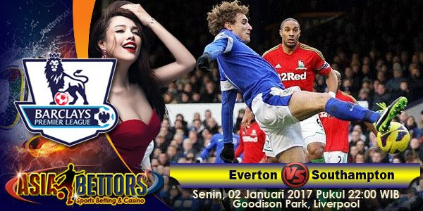 Prediksi Everton vs Southampton, Prediksi Skor Everton vs Southampton, Everton vs Southampton akan bertemu di partai lanjutan Liga Primer Inggris yang rencananya akan digelar pada hari Senin, 02 Januari 2017 Pukul 22:00 WIB dan disiarkan secara live dari Goodison Park, Liverpool.
