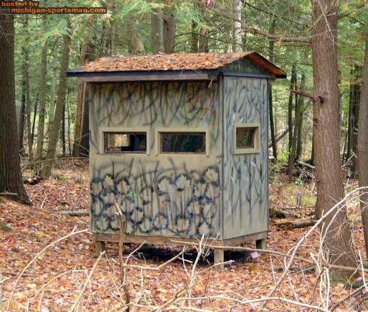 209 best hunting blinds and stands images on pinterest for Deer ground blind plans