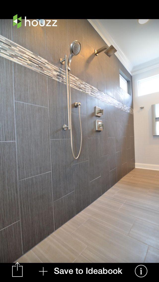 12 x 12 strand twilight tile for shower walls pictured is - Bathroom tile vertical stripe ...