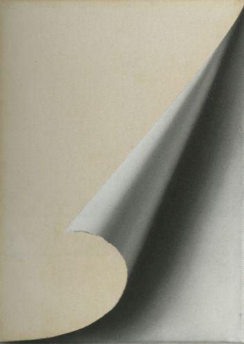 Gerhard Richter :: Turned Sheet