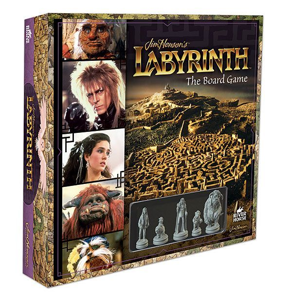 Jim Henson's Labyrinth Board Game: Through dangers untold and hardships unnumbered, fight to get baby Toby back before the clock strikes 13. How do you like this Labyrinth?