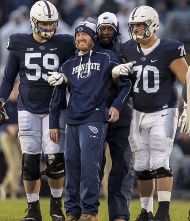 Penn State football- gentlemen bringing glory to our university.