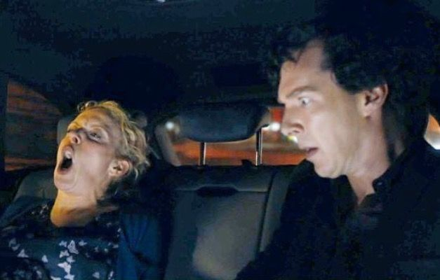 Mary had a little... While Sherlock went into shock