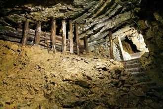 Unterwelten entdecken, Der Besucherstollen führt in andere Welten und Zeiten. Stahlbergmuseum Müsen