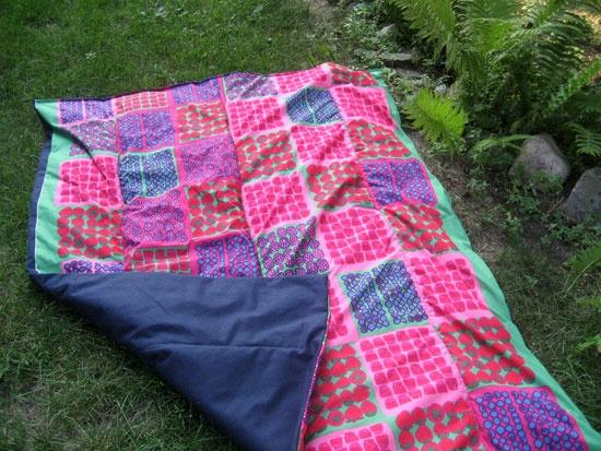 Marimeko Picnic Blanket