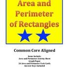 Area and Perimeter of Rectangles Activity and Task Cards provides challenging activities for students to practice finding the area and perimeter of...