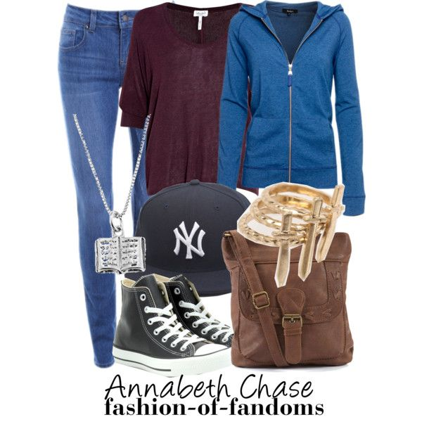 """""""Annabeth Chase"""" by waveyourwands97 on Polyvore"""