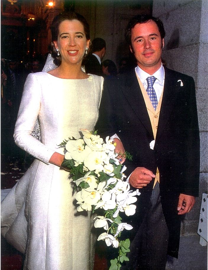 Alejandra Kindelán and Alfonso Galobart, grand-son of Infanta Cristina of Spain