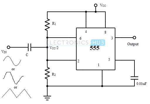 schmitt trigger using transistor pdf