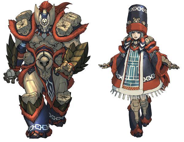 Risultati immagini per Monster hunter huntress armor
