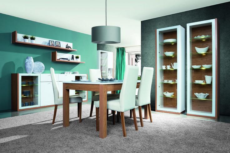 Nowoczesne i piękne - tak najprościej można określić kolekcję mebli Salvo. Prawda, że piękne? #meble #szynakameble #furniture #wood #drewno #inspiracja #zainspirujsie #inspiration