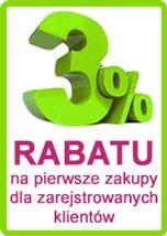 3% rabatu