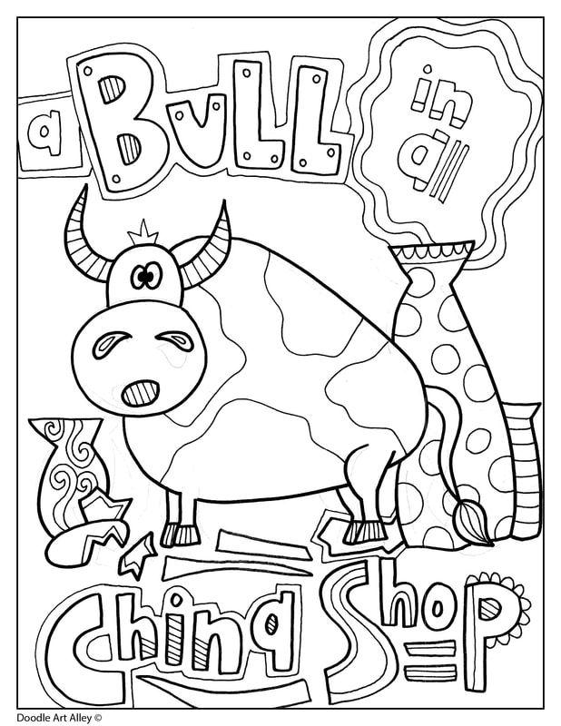 Idioms Classroom Doodles Idioms