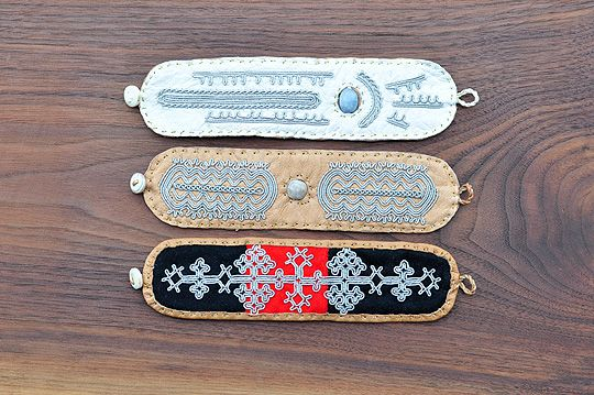 Lapland Bracelet - Decorated (Ann Skum Lindstrom) - SOURCE objects