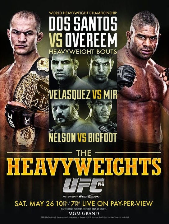 Next events in UFC/Proximos eventos in UFC